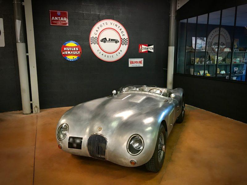 Jaguar Type C – Avant