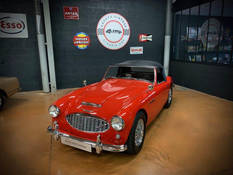 Austin Healey 3000 BT7 – Capote 2