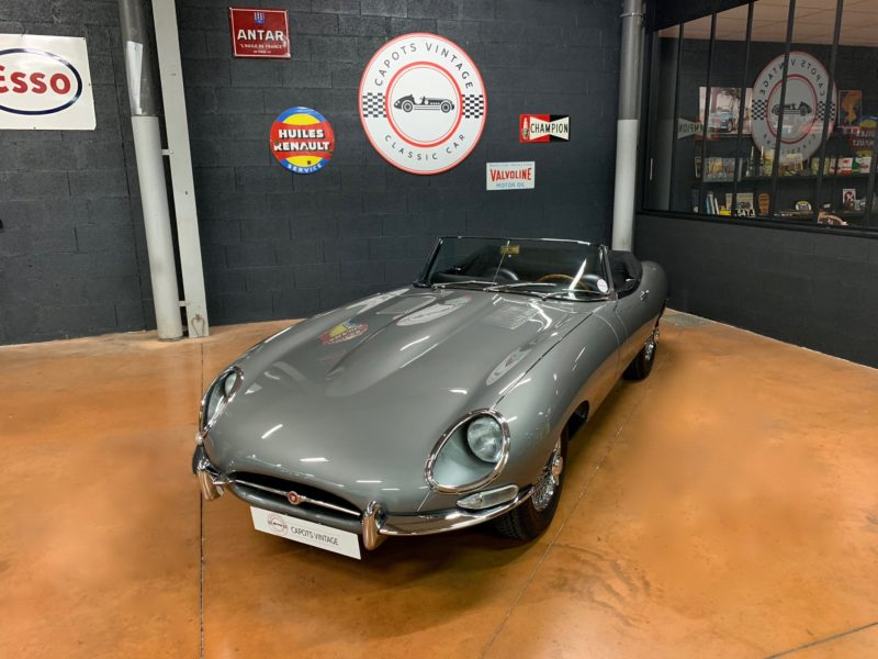 Jaguar Type E S1 Cabriolet – Avant