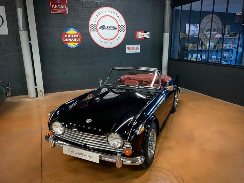 Triumph TR4 A – Triumph avant