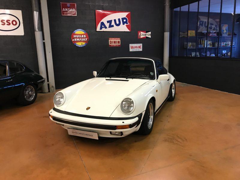 Porsche 911 3.2 – Avant