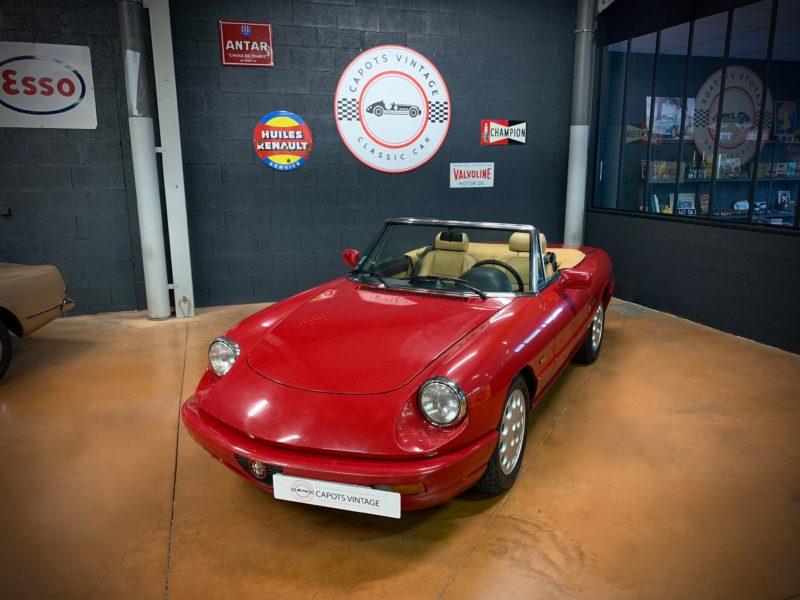 Alfa Romeo Spider – Avant