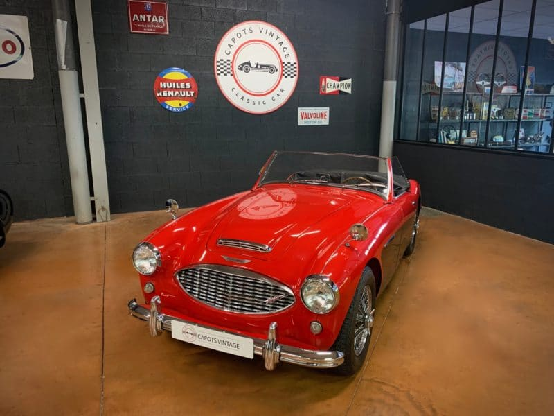 Austin Healey 3000 BT7 Red/Black – Avant