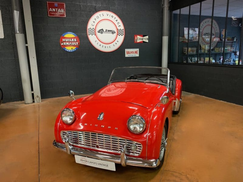 Triumph TR3 A – Avant