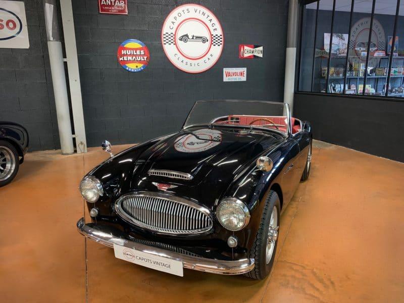 Austin Healey 3000 Black – Avant