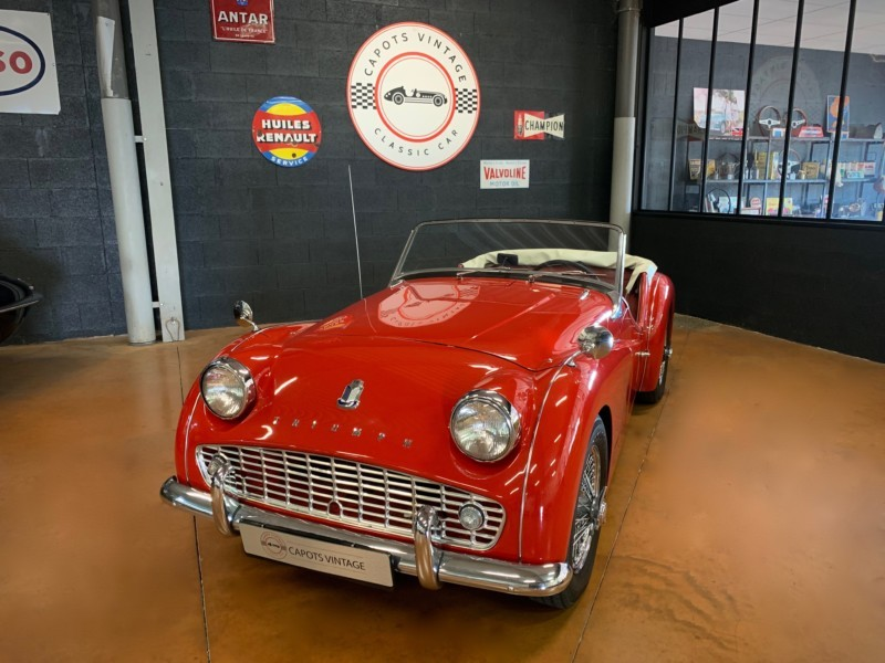 Triumph TR3B Red – Avant