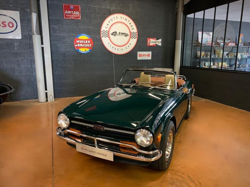 Triumph TR6 – Avant