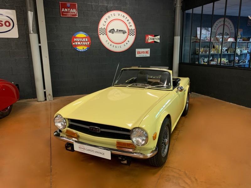 Triumph TR6 Cabriolet – Avant