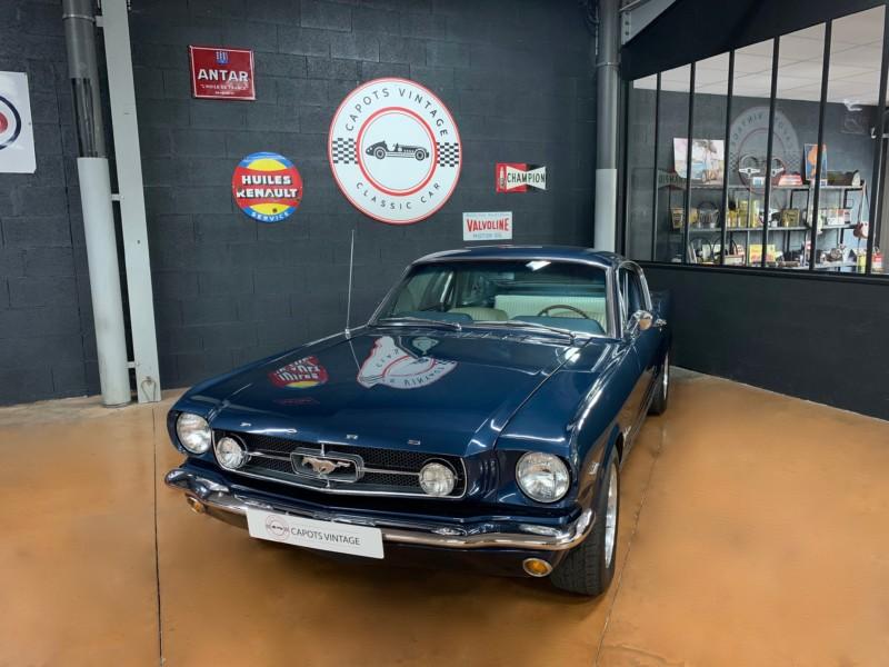 Ford Mustang Fastback – Avant