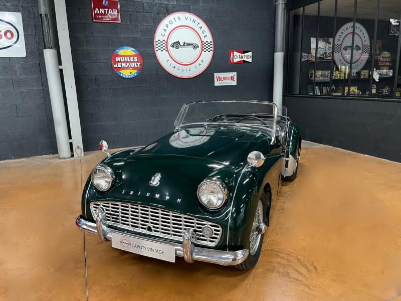 Triumph TR3A BRG – Avant