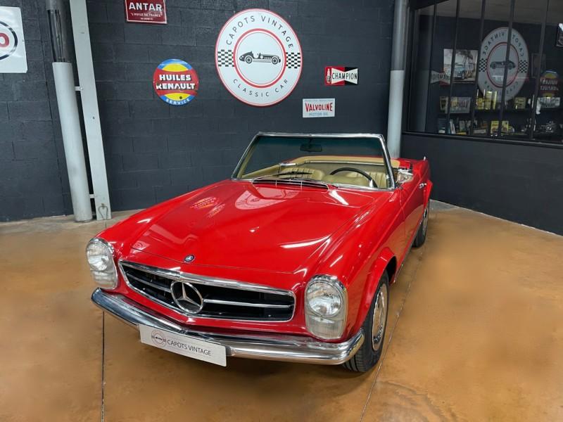 Mercedes 230SL Pagode – Avant