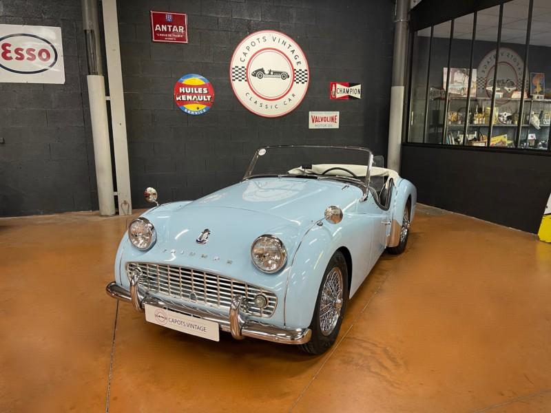 Triumph TR3A Powder Blue – Avant
