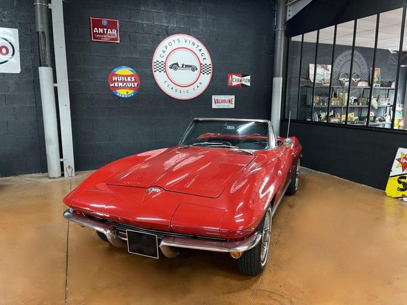 Chevrolet Corvette C2 – Avant