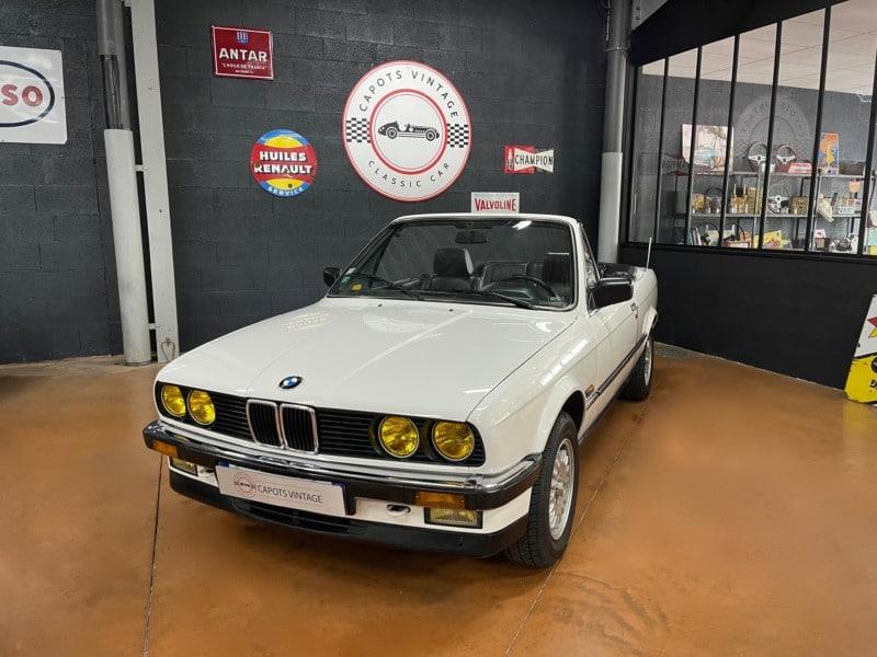 BMW E30 325 Cabriolet – Avant